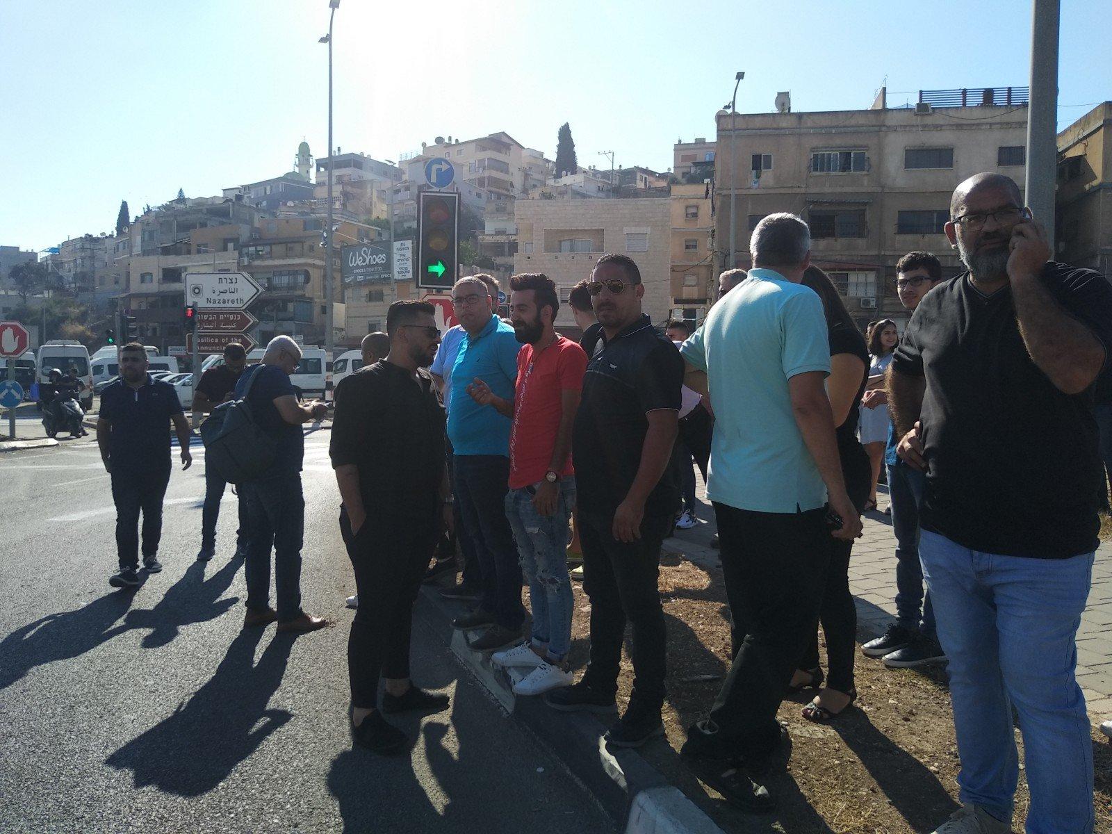 الناصرة تصرخ ضد العنف على دوار البيج -9