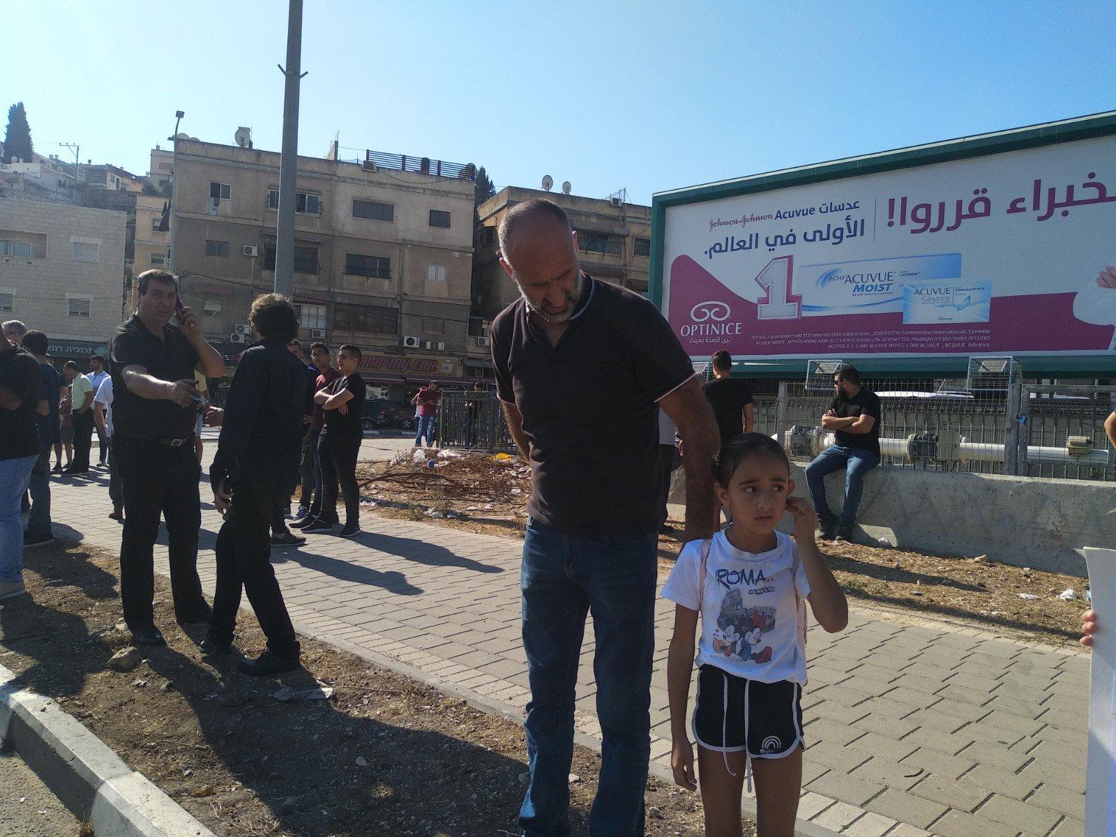 الناصرة تصرخ ضد العنف على دوار البيج -11