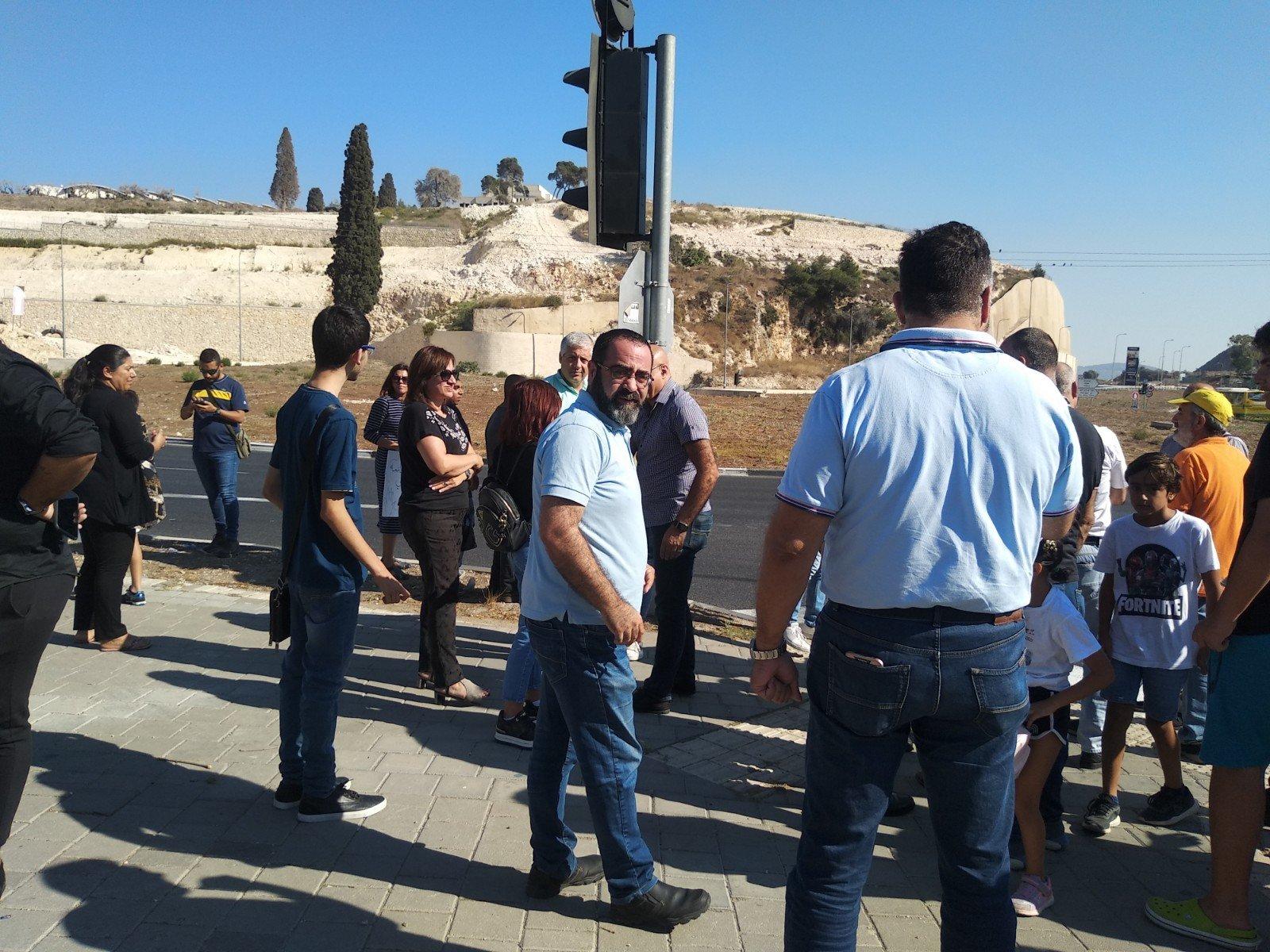 الناصرة تصرخ ضد العنف على دوار البيج -12