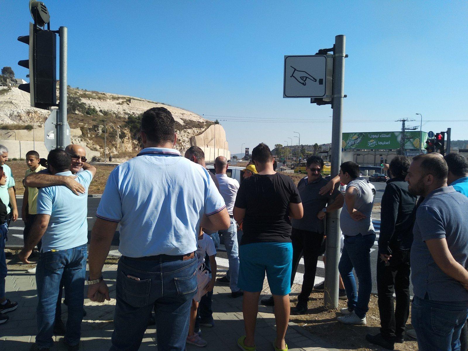 الناصرة تصرخ ضد العنف على دوار البيج -14