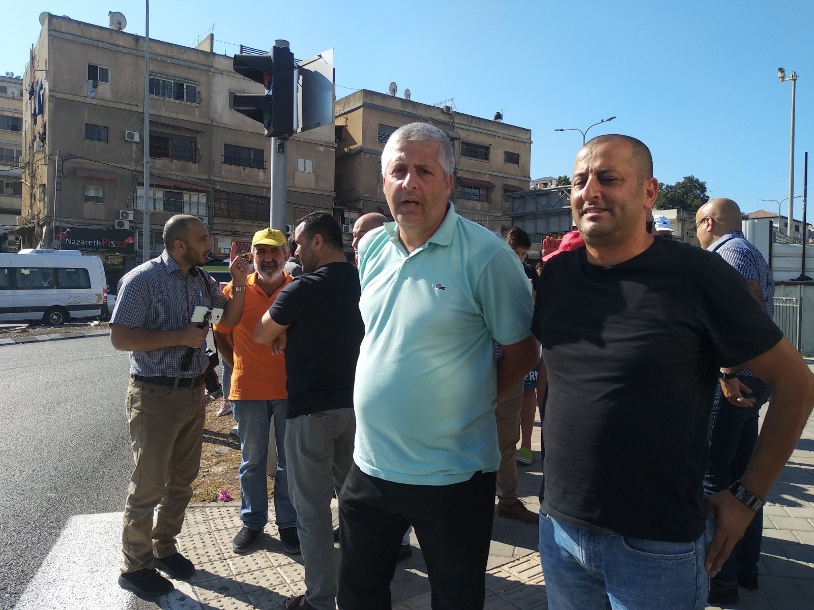 الناصرة تصرخ ضد العنف على دوار البيج -16