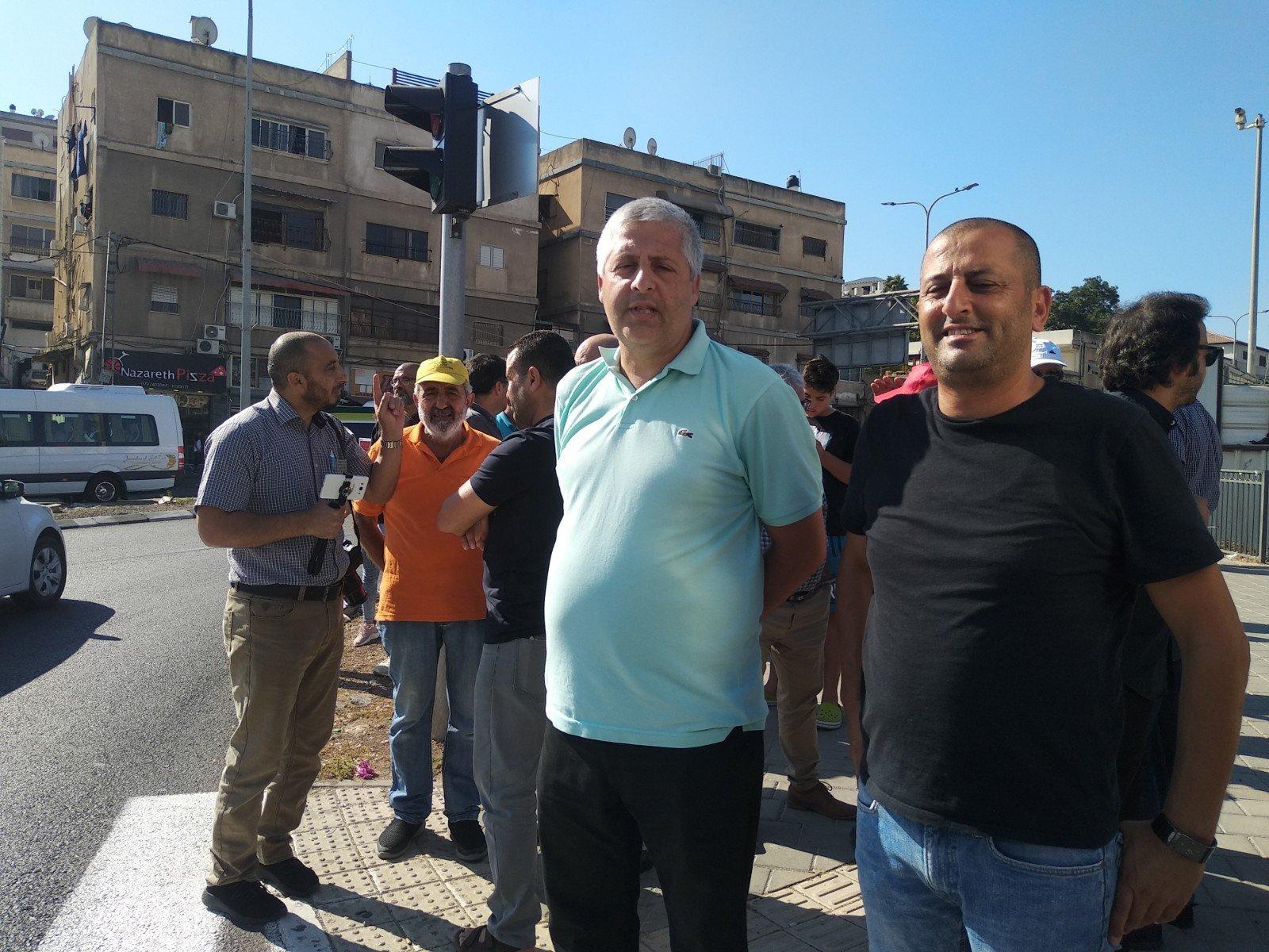 الناصرة تصرخ ضد العنف على دوار البيج -17