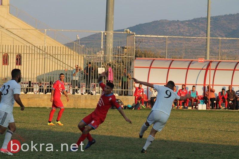 تعادل (2-2) في مباراة القمة بين كوكب وكفر مندا