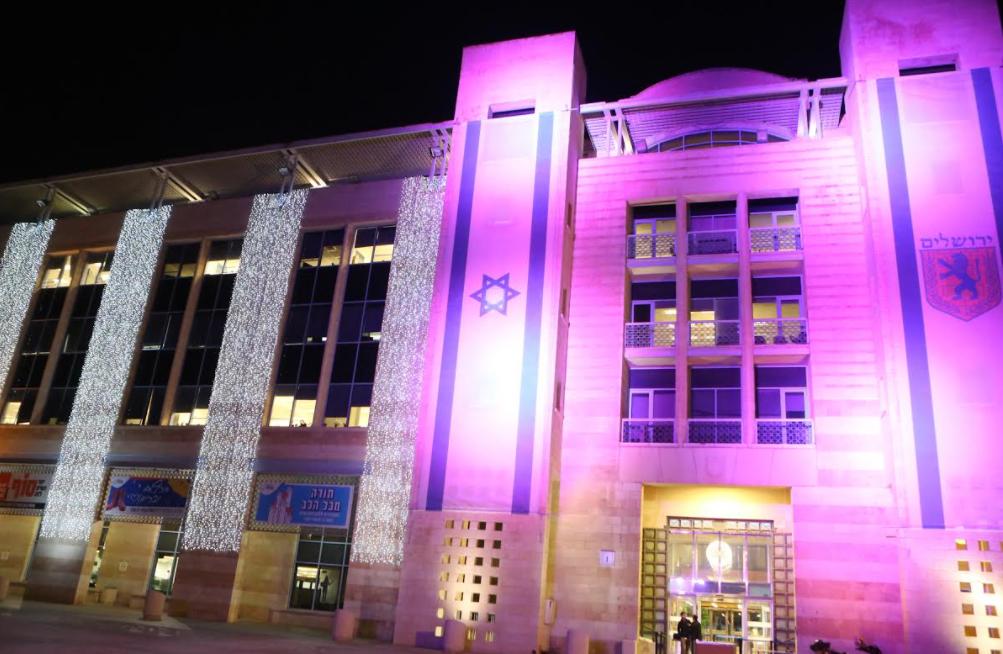 """مبادرو مشروع """"الليلة البنفسجية"""" من أجل ذوي الإعاقات ينقلون الحدث من القدس إلى العالم-5"""