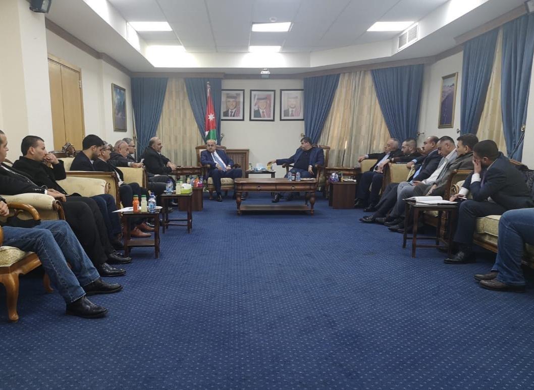 نواب لجنة القدس في المشتركة يطرحون قضايا الداخل والقدس خلال اجتماعهم بالبرلمان الأردني-0