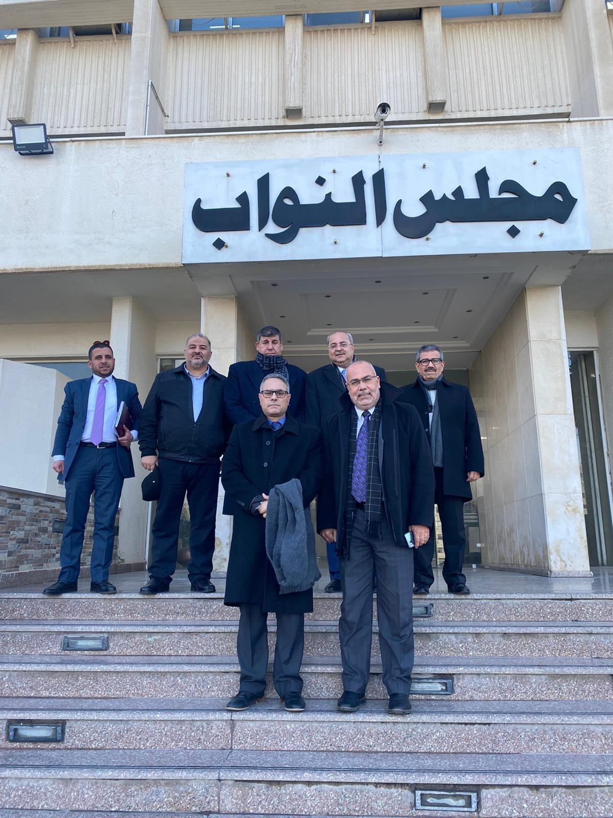 نواب لجنة القدس في المشتركة يطرحون قضايا الداخل والقدس خلال اجتماعهم بالبرلمان الأردني-1