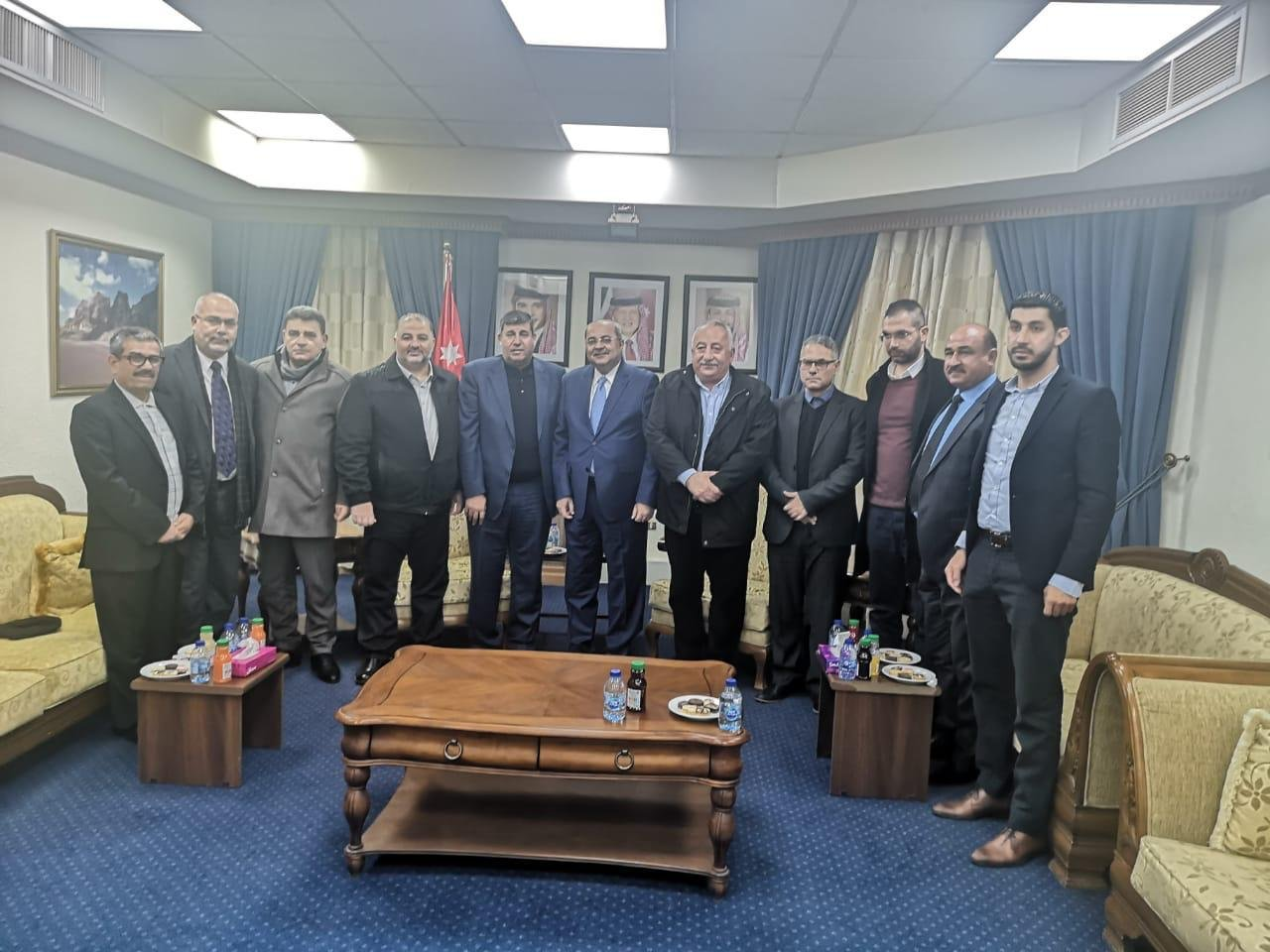 نواب لجنة القدس في المشتركة يطرحون قضايا الداخل والقدس خلال اجتماعهم بالبرلمان الأردني-2