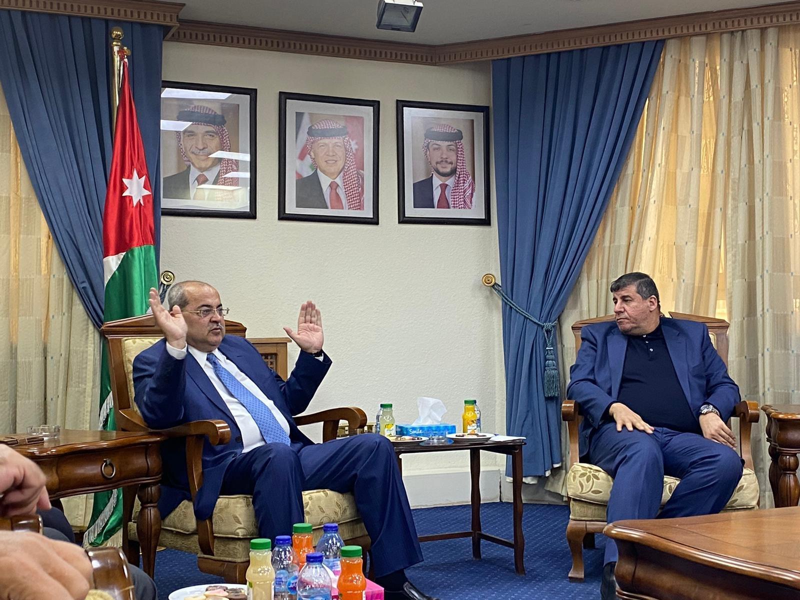 نواب لجنة القدس في المشتركة يطرحون قضايا الداخل والقدس خلال اجتماعهم بالبرلمان الأردني-3