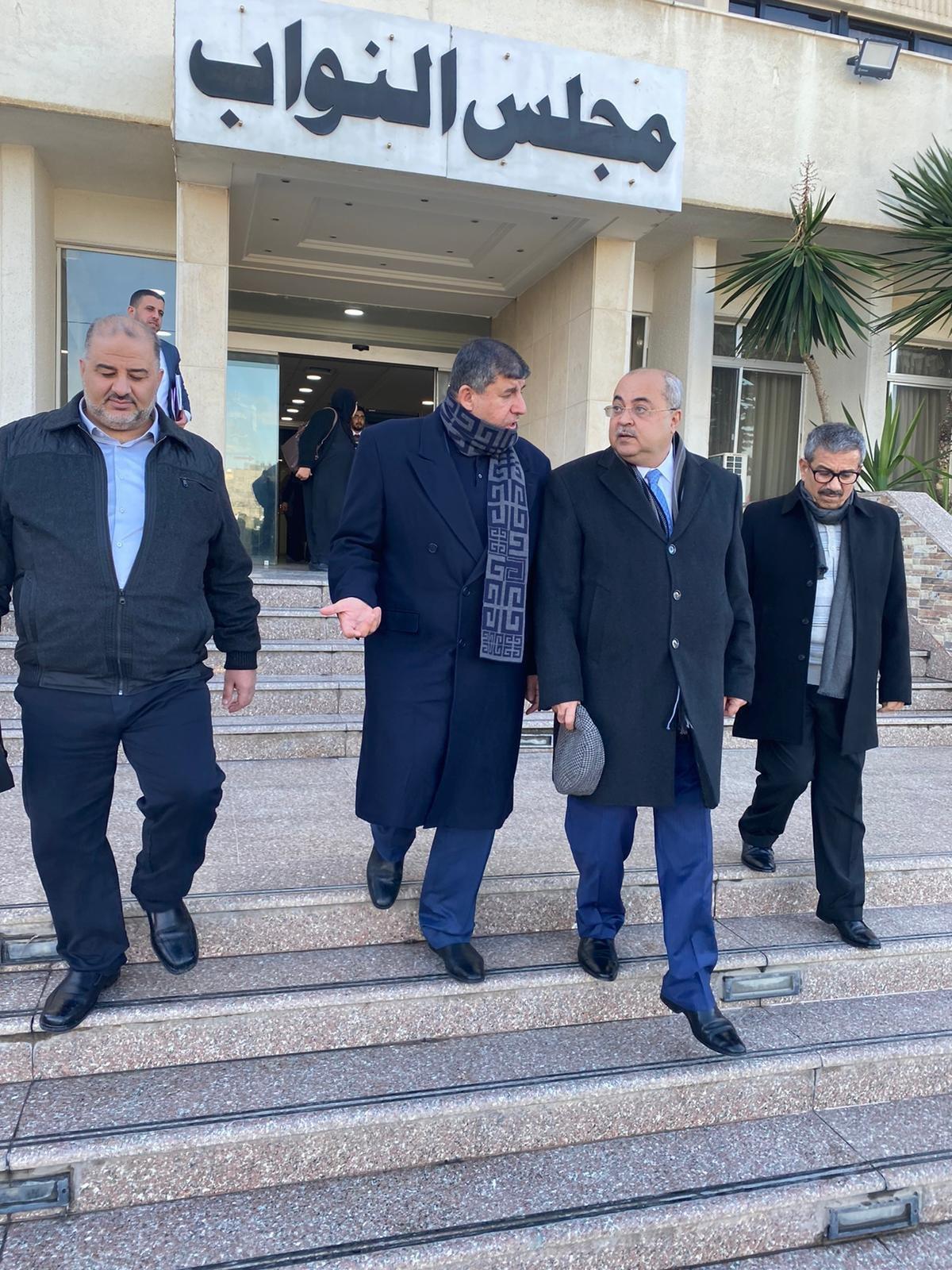 نواب لجنة القدس في المشتركة يطرحون قضايا الداخل والقدس خلال اجتماعهم بالبرلمان الأردني-4