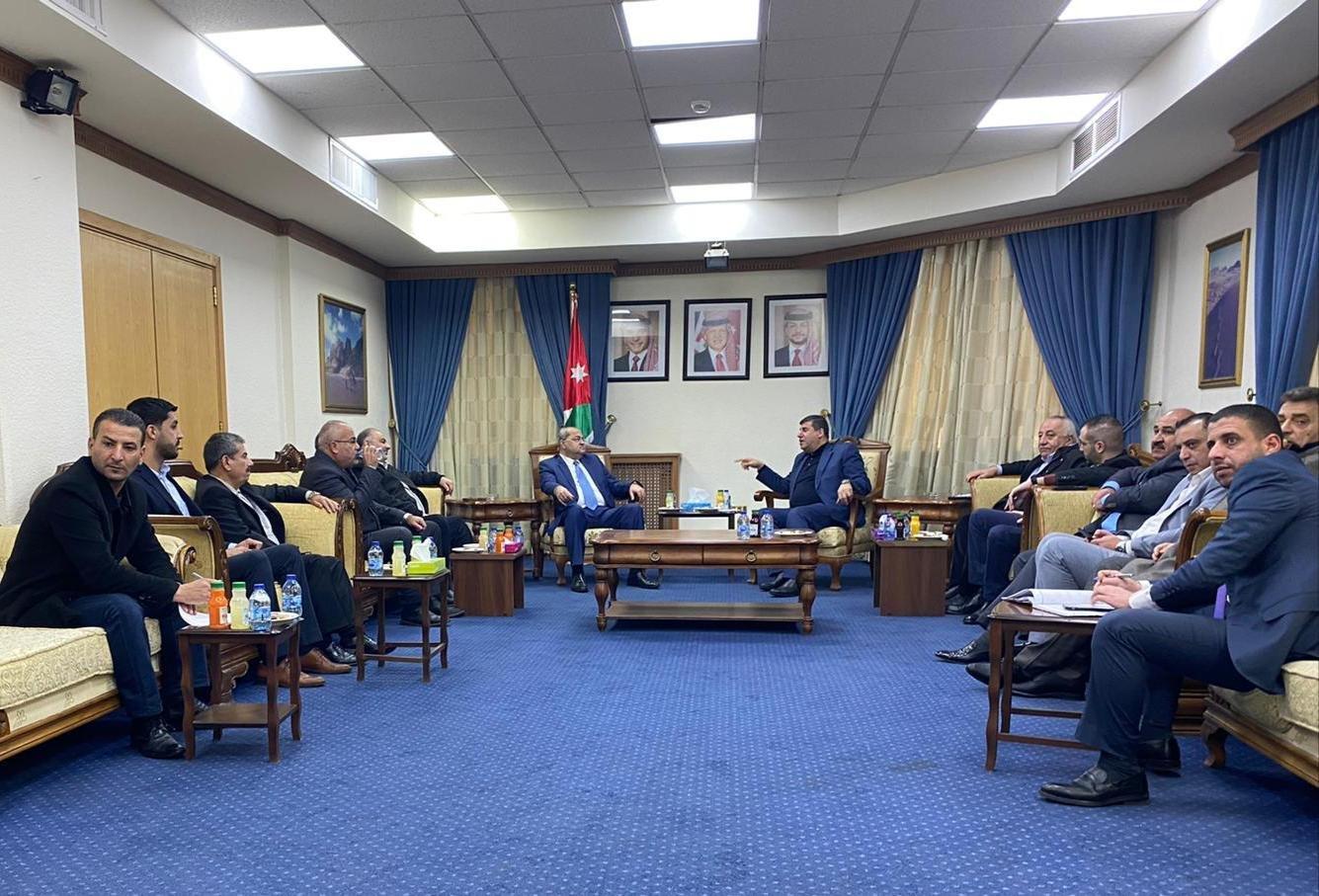 نواب لجنة القدس في المشتركة يطرحون قضايا الداخل والقدس خلال اجتماعهم بالبرلمان الأردني-5