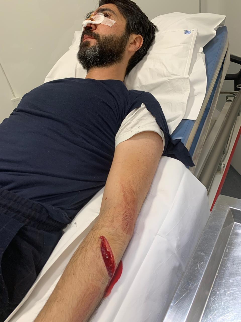 بعد تعرّضه لحادث سير خطير.. وسام صبّاغ يحذّر !