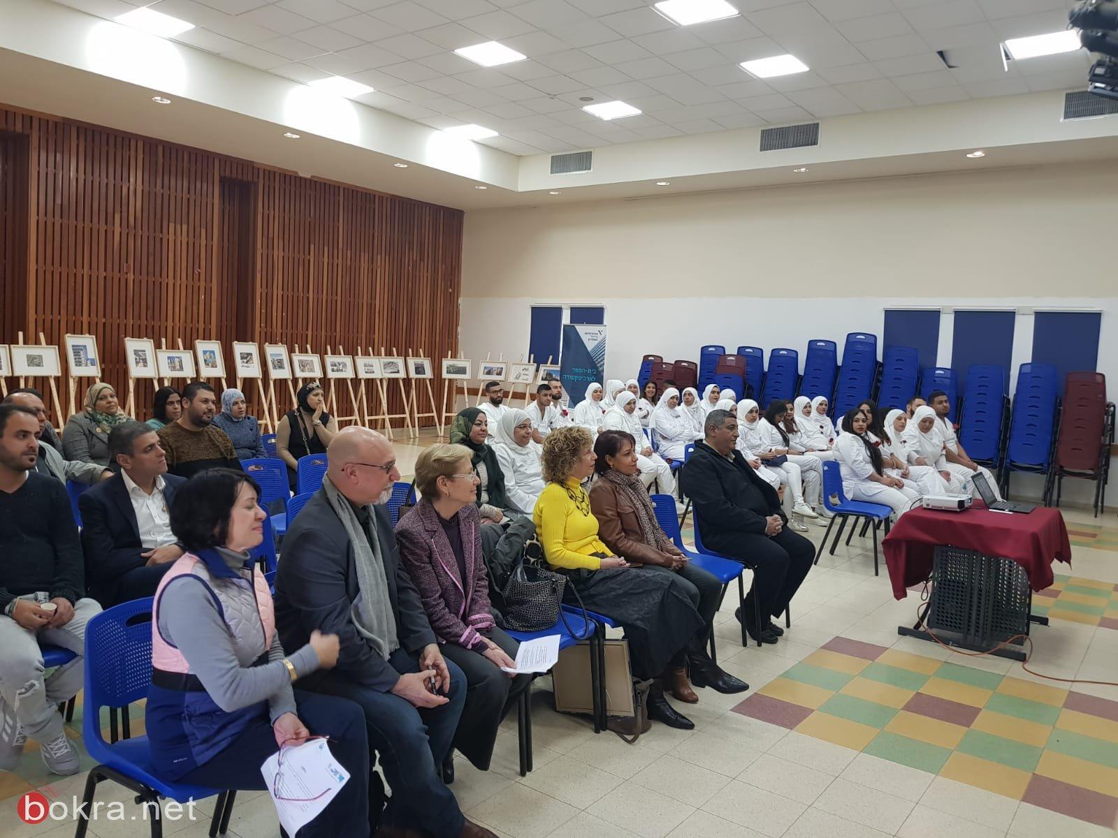 خمسون طالب جامعي من أبناء جسر الزرقاء ينهون عامهم الدارسي الأول في مجال التمريض!