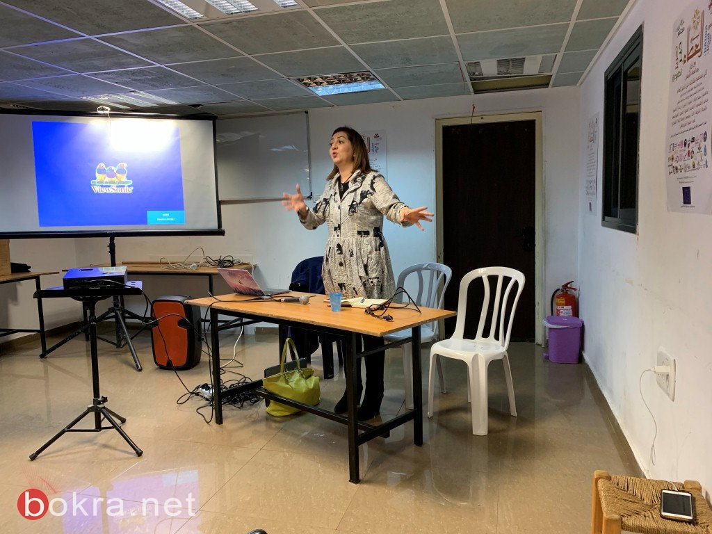 حيفا: المُخرجة روان الضامن تدير لقاء بعنوان  كلّنا اعلاميّون