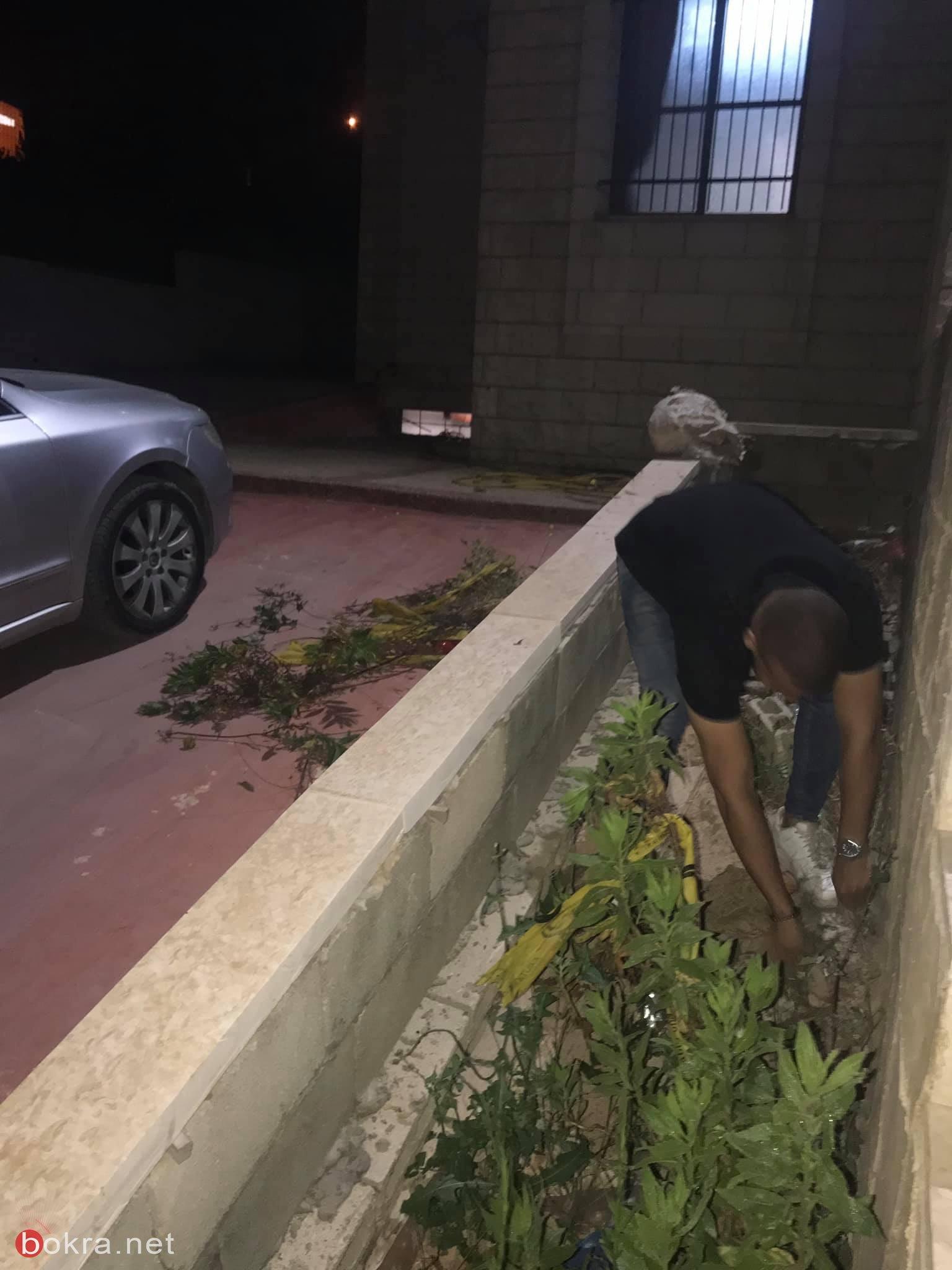 الجامعة الامريكيّة في جنين: تزيين مسجد السكنات بمبادرة من طلّاب ام الفحم