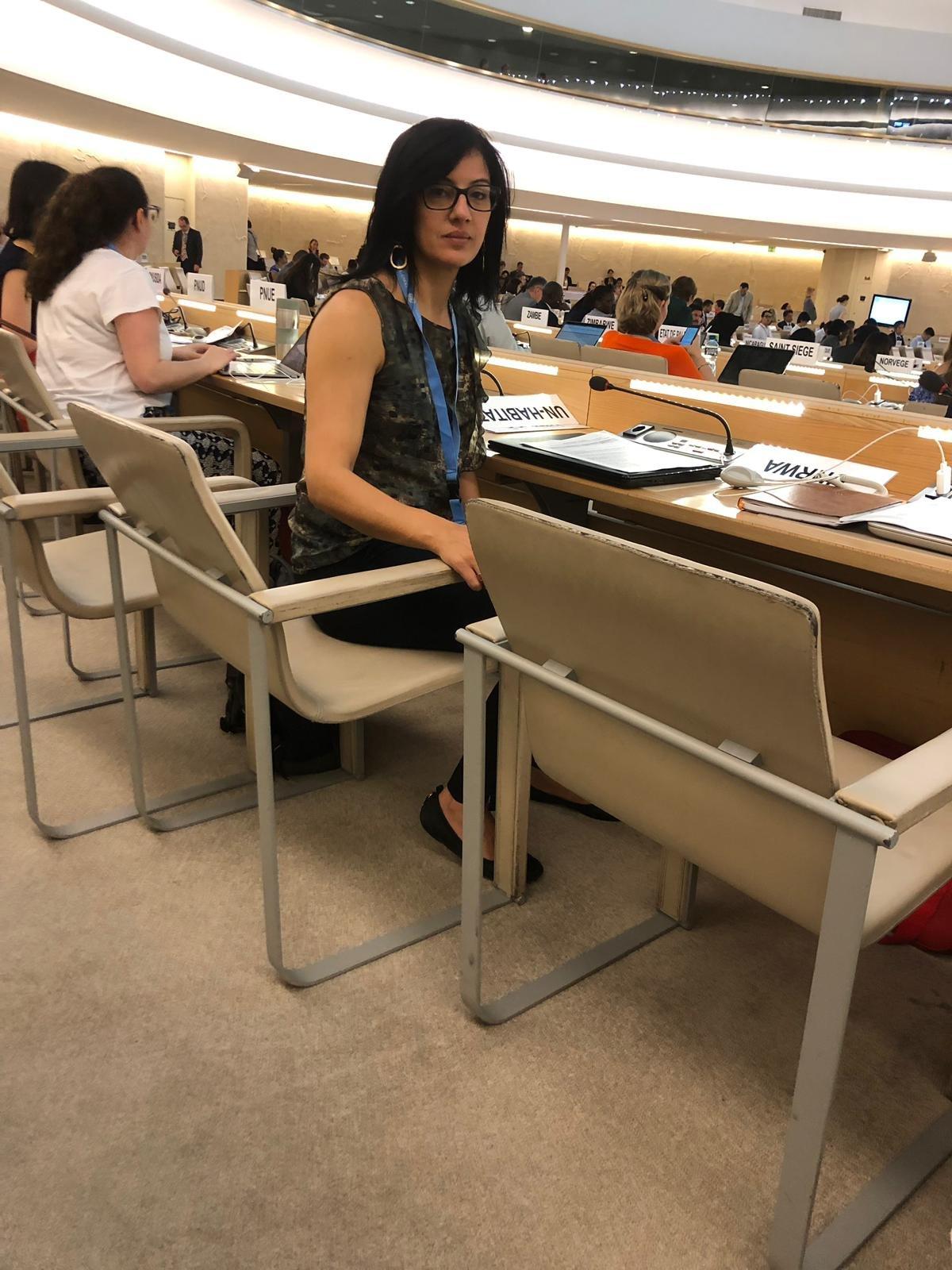 جمعية كيان-تنظيم نسوي امام مجلس حقوق الانسان في الامم المتحدة: المرأة الفلسطينية في البلاد لا تثق بالنظام القضائي وجهاز الحماية الاسرائيلية