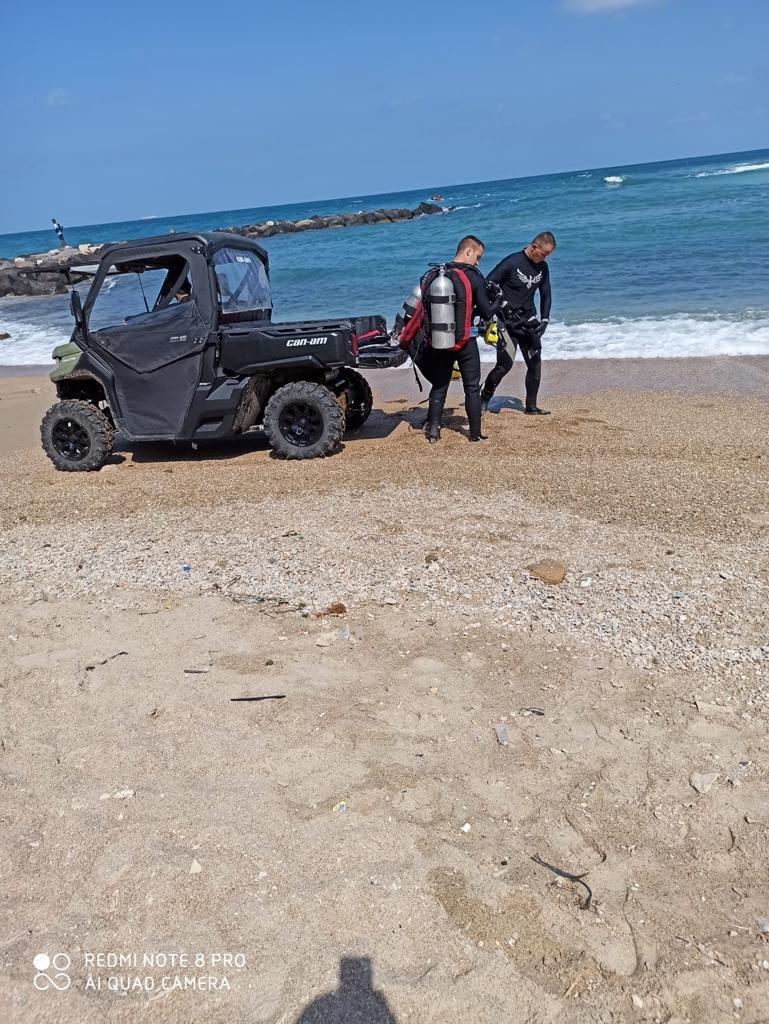 """أعمال البحث مستمرة عن فتى فُقدت أثاره في شاطئ """"هدايجيم - الصيادين"""" في الخضيرة-1"""