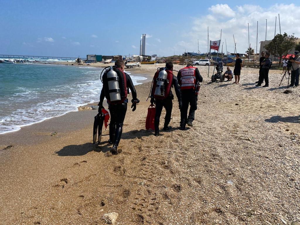 """أعمال البحث مستمرة عن فتى فُقدت أثاره في شاطئ """"هدايجيم - الصيادين"""" في الخضيرة-2"""