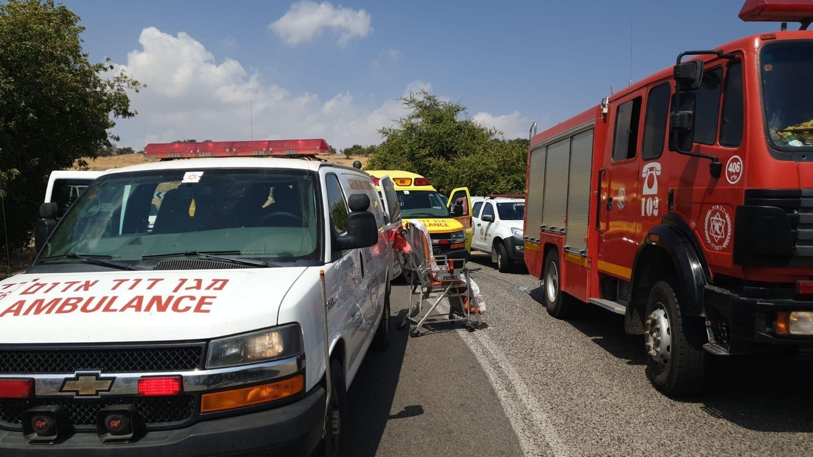 إصابة حرجة لسيدة بحادث مروّع قرب كتسرين