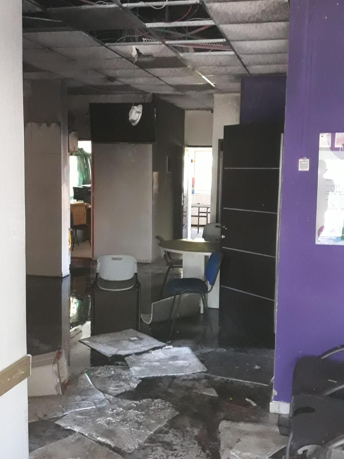 احراق مدرسة في شفاعمرو وإطلاق النار على سيارة مديرة مدرسة بجلجولية