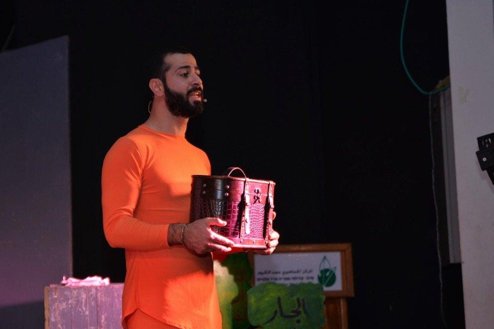 الفنانان هشام سليمان ولطف نويصر يشيدان بدور مفعال هبايس في دعم المسرح والفن العربي