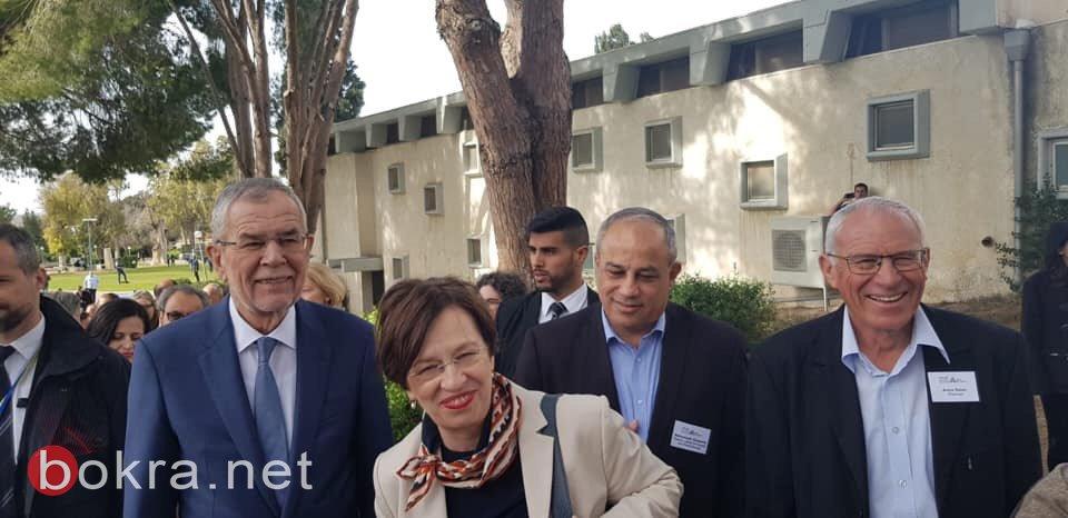 محمد دراوشة لـبكرا: عرضت واقع المجتمع العربي على الرئيس النمساوي