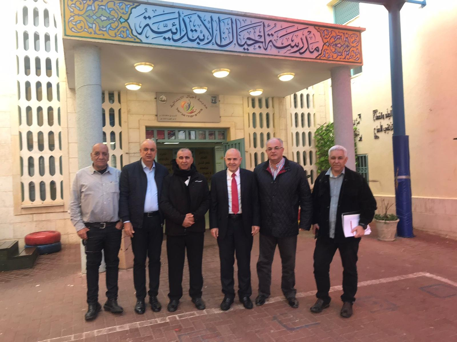 وزارة التّربية:جولة المدير العام للوزارة،شموئيل ابواب في مراكز الموهوبين في المجتمع العربي