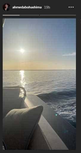بعد تواجدهما في يخت بوسط البحر.. هل تزوج الثنائي ياسمين صبري وأحمد أبو هشيمة؟