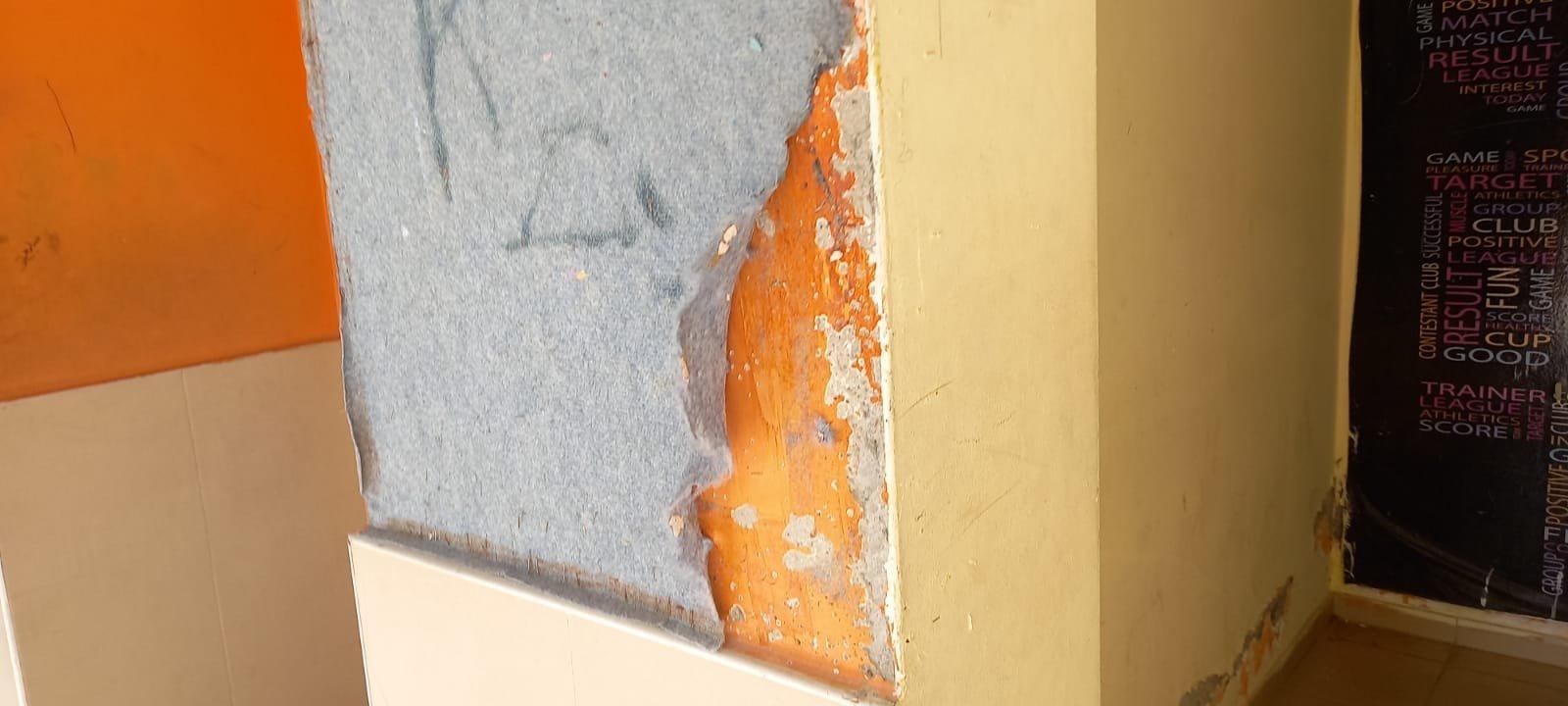 اعتداء على مدرسة في الطيبة والطلاب يتظاهرون-1