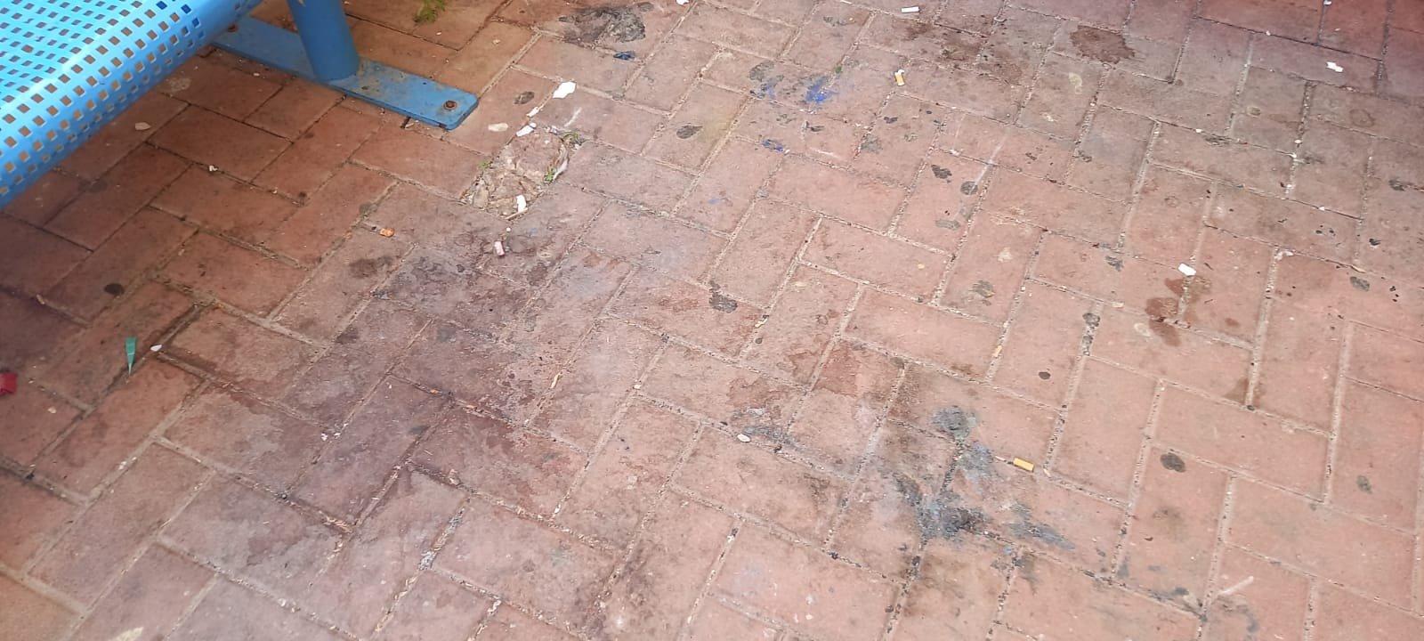 اعتداء على مدرسة في الطيبة والطلاب يتظاهرون-3