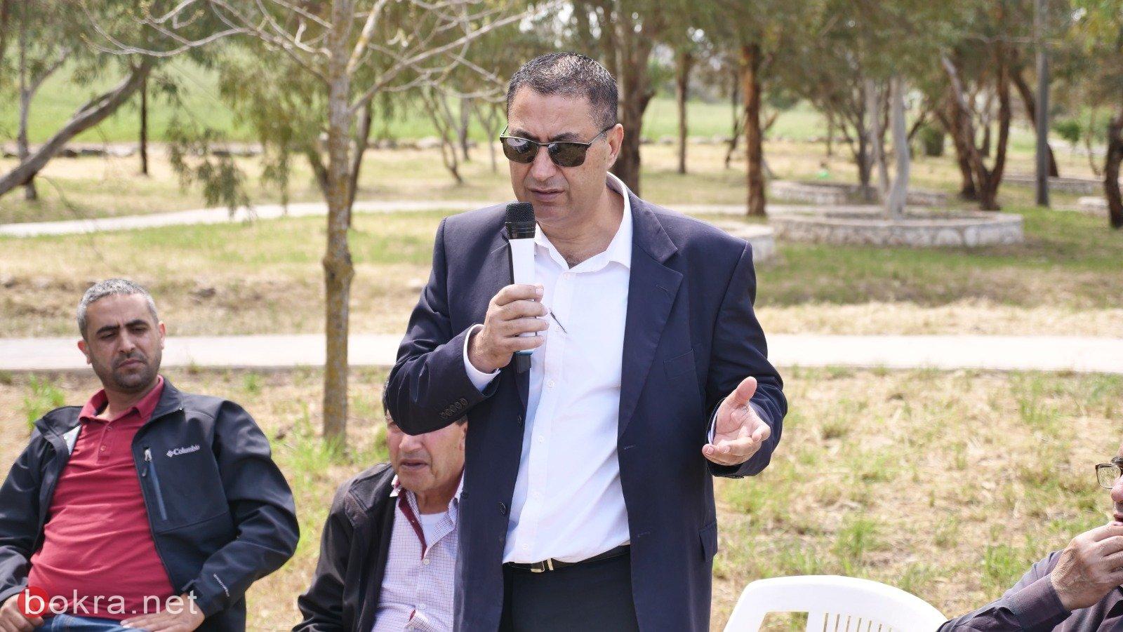 اطلاق المرحلة الثانية من ترميم وادي المدي في عرب الشبلي