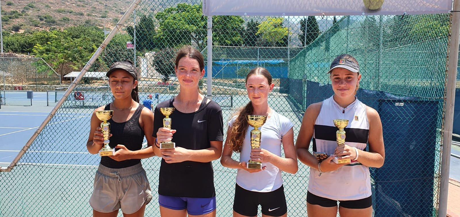بطلة التنس الأرضي كاريمان بقاعي تواصل التحليق وتفوز بالمرتبة الثانية قطريًا-4