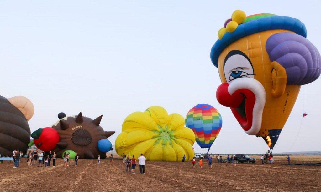 نجاح باهر وأجواء رائعة بمهرجان المناطيد التاسع في الجلبوع