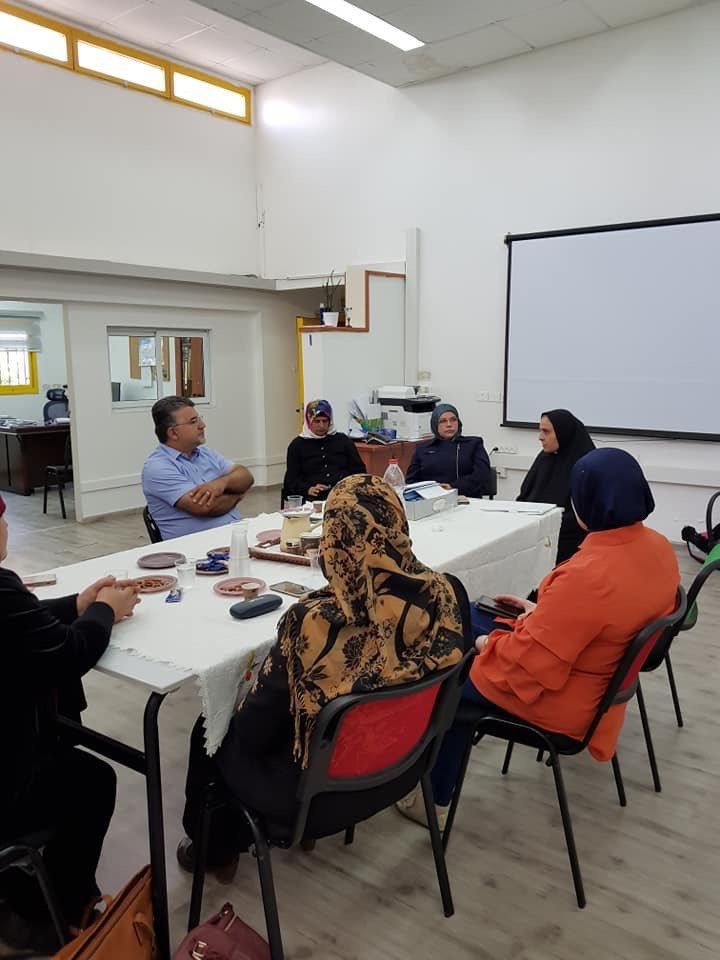 ام الفحم: النائب يوسف جبارين يجتمع مع عضوات ام الفحم بعيون نسائها