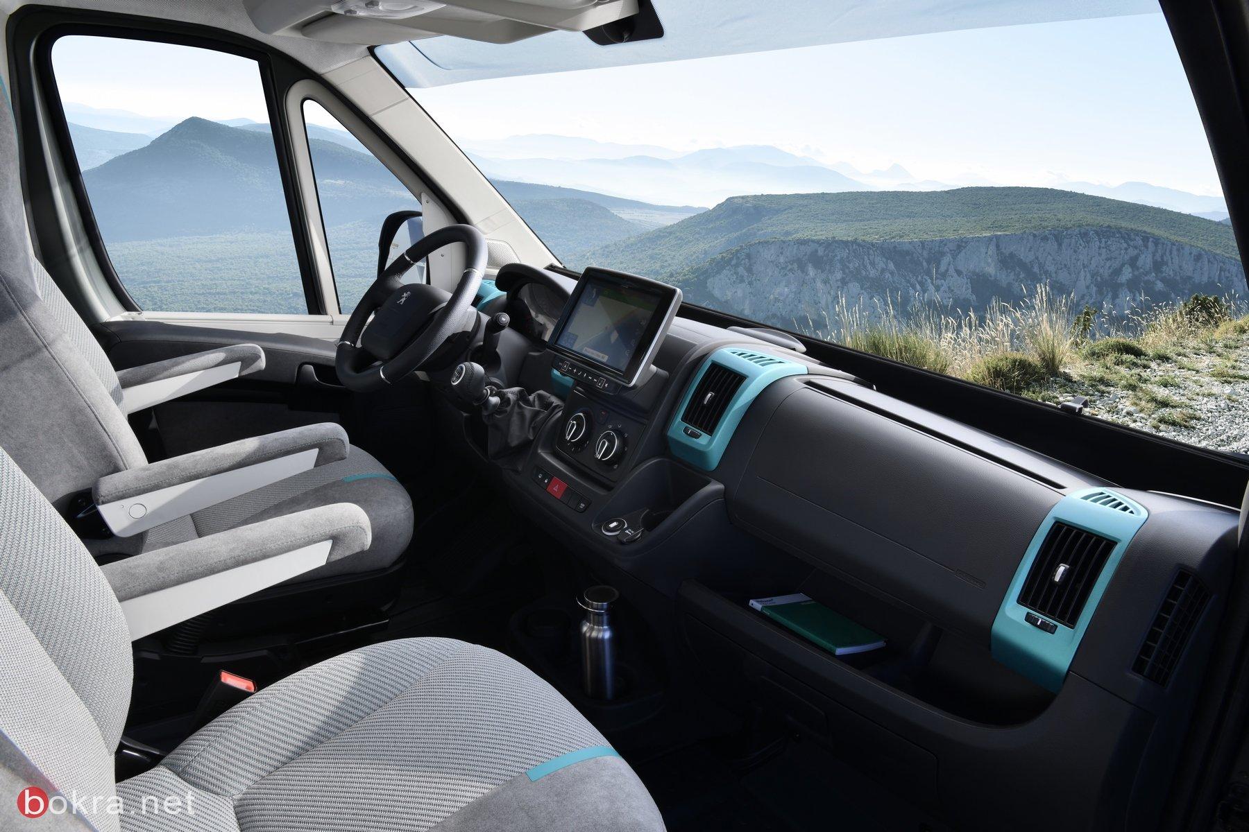 'بيجو' تكشف عن مركبة 'بوكسر' رباعية الدفع النموذجية الجديدة