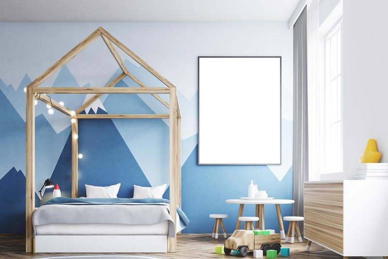 ورق حائط لغرف الاطفال 3d-0