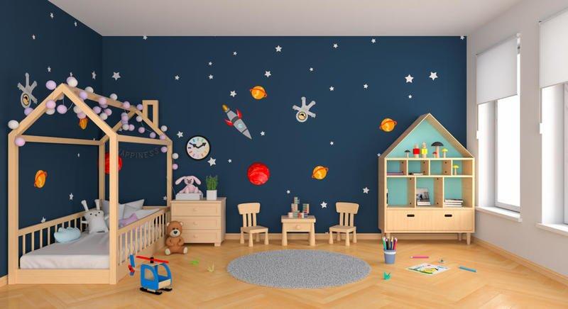 ورق حائط لغرف الاطفال 3d-2