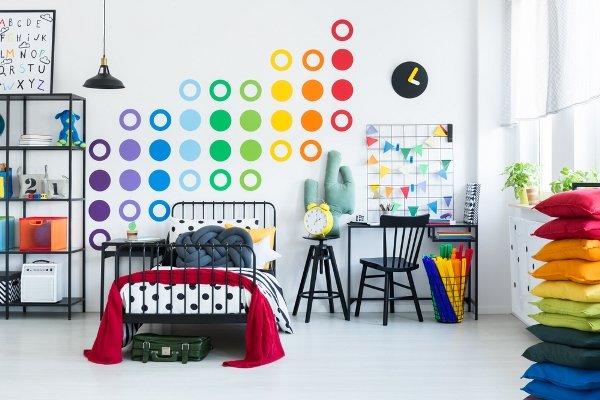 ورق حائط لغرف الاطفال 3d-3