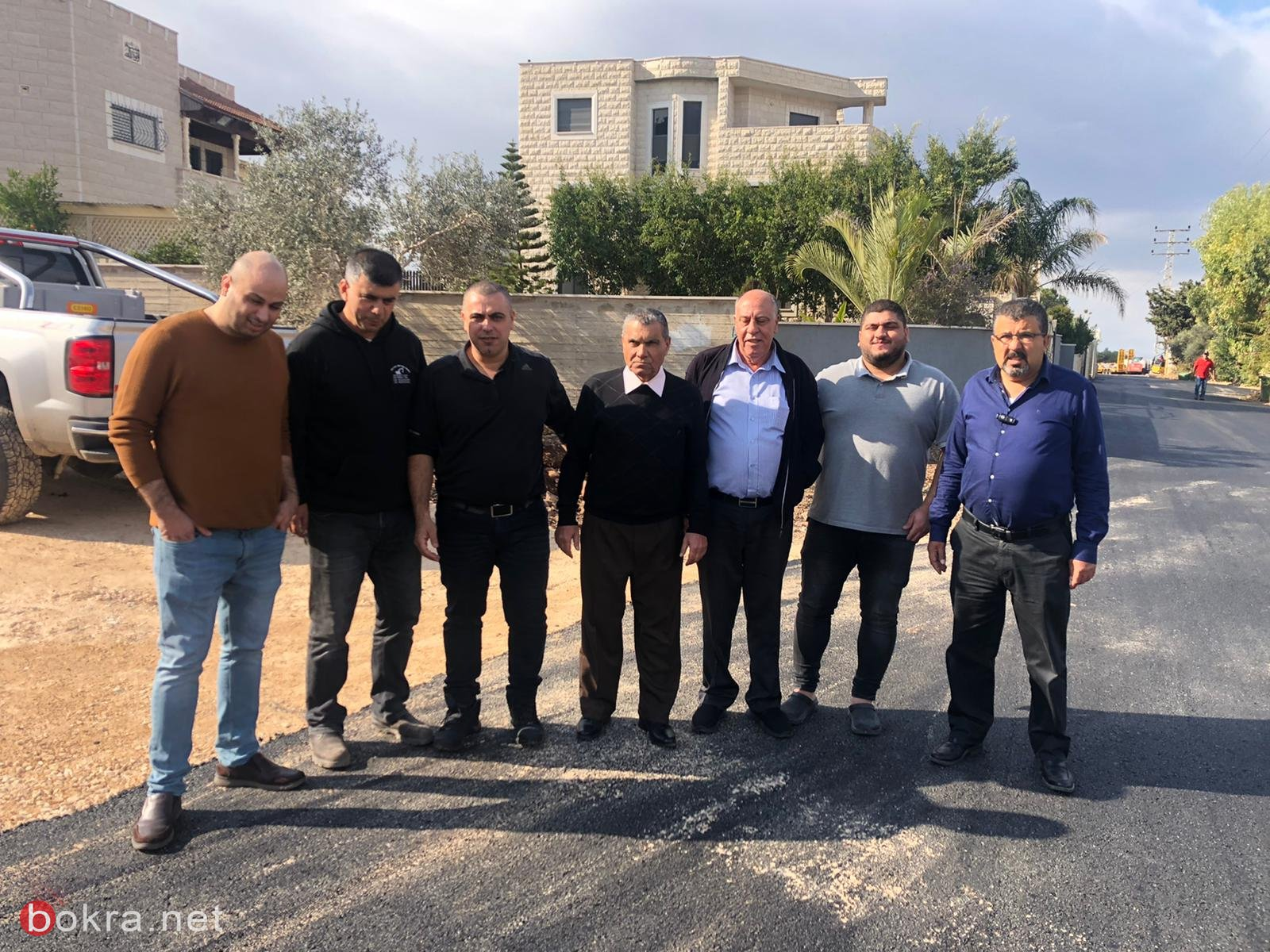 المجلس الأقليمي بستان المرج يقوم بأعمال ترميم وتطوير في قرية الدحي -0