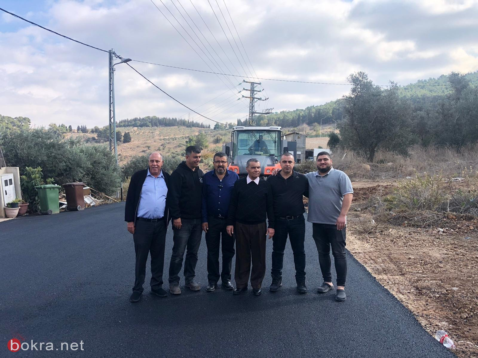 المجلس الأقليمي بستان المرج يقوم بأعمال ترميم وتطوير في قرية الدحي -1