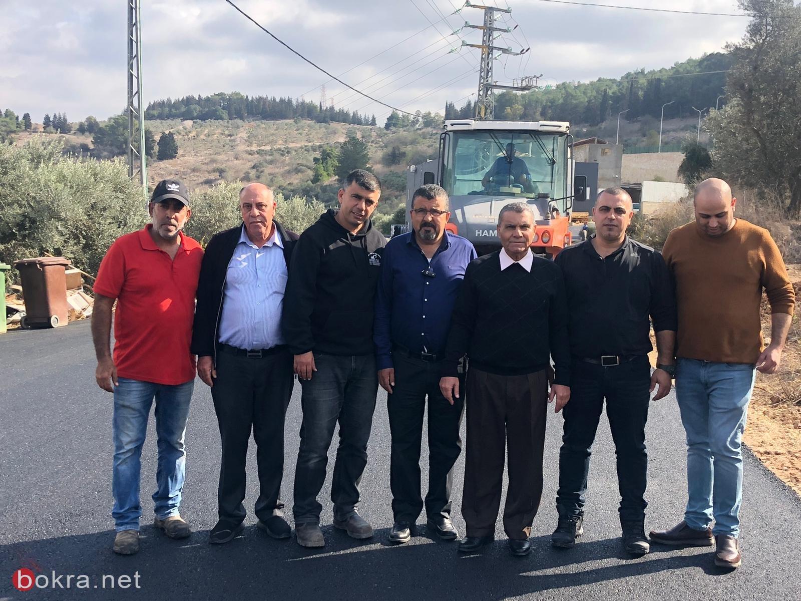 المجلس الأقليمي بستان المرج يقوم بأعمال ترميم وتطوير في قرية الدحي -5