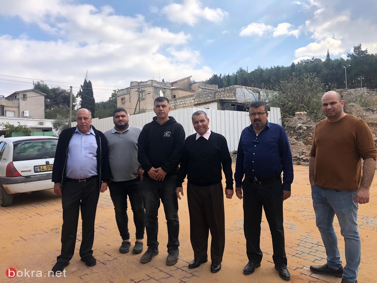 المجلس الأقليمي بستان المرج يقوم بأعمال ترميم وتطوير في قرية الدحي -6