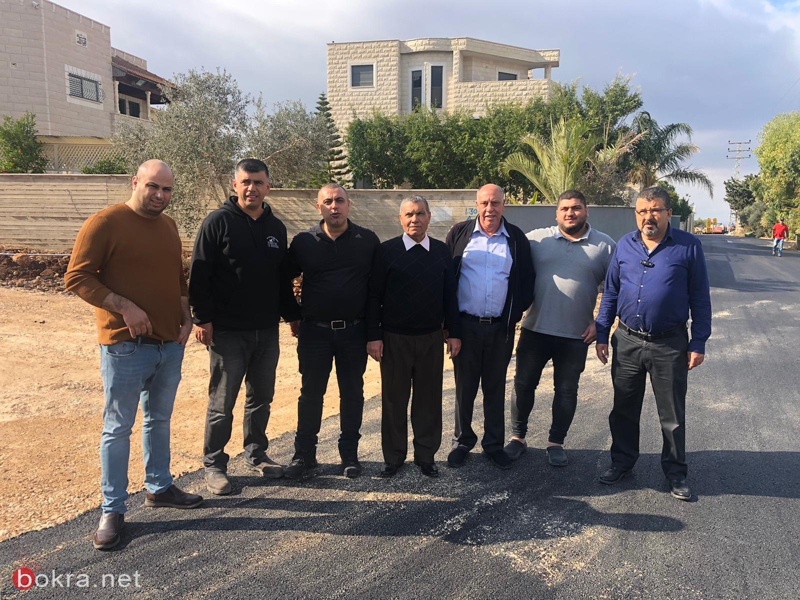 المجلس الأقليمي بستان المرج يقوم بأعمال ترميم وتطوير في قرية الدحي -7