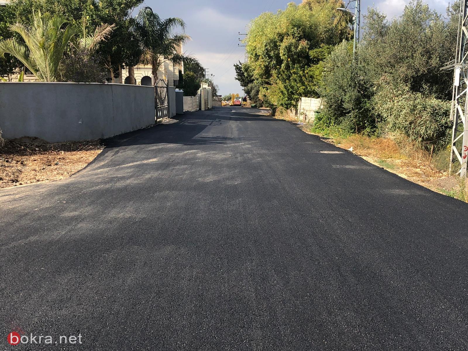 المجلس الأقليمي بستان المرج يقوم بأعمال ترميم وتطوير في قرية الدحي -9