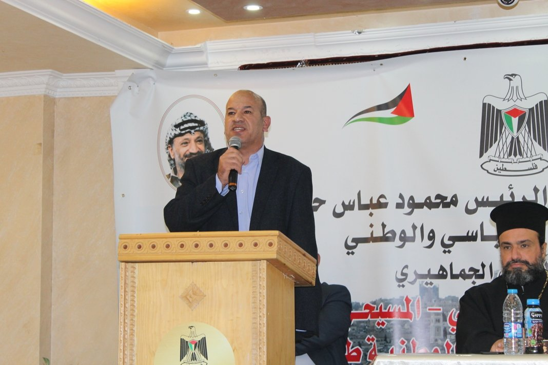 شخصيات وطنية فلسطينية ورجال دين يرفضون إعلان ترمب ويؤكدون التفافهم حول القيادة