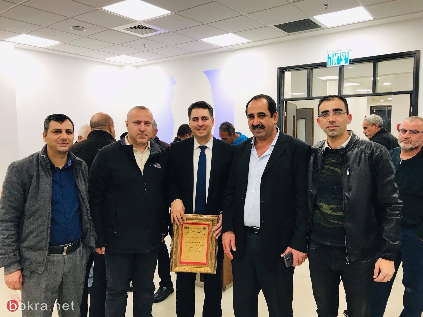 المزرعة تستضيف المحامي قيس ناصر بمحاضرة عن قضايا الارض والمسكن