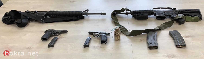إليكم الاسلحة التي ضبطتها الشرطة في البلدات العربية منذ بداية السنة
