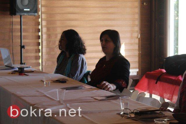 الناصرة: خلال مؤتمر صحفي حول اقصاء النساء من السلطات المحلية- الفساد والقوة عقبات امام ترشح النساء في السلطة المحلية-3