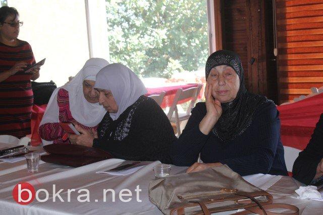 الناصرة: خلال مؤتمر صحفي حول اقصاء النساء من السلطات المحلية- الفساد والقوة عقبات امام ترشح النساء في السلطة المحلية-6