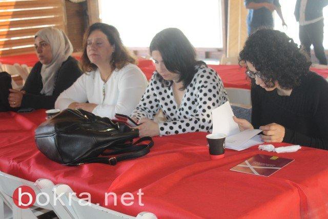 الناصرة: خلال مؤتمر صحفي حول اقصاء النساء من السلطات المحلية- الفساد والقوة عقبات امام ترشح النساء في السلطة المحلية-8