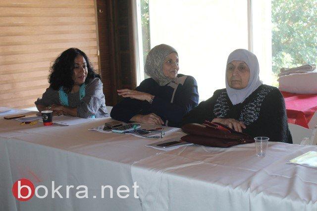 الناصرة: خلال مؤتمر صحفي حول اقصاء النساء من السلطات المحلية- الفساد والقوة عقبات امام ترشح النساء في السلطة المحلية-10